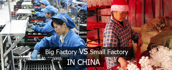 There are numerous mini scale factories in China producing all kinds products, but are they reliable?
