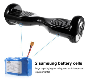 choose balancing scooters with good quality battery, such as Samsung or LG battery
