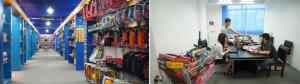 Toys showroom company in Chenghai