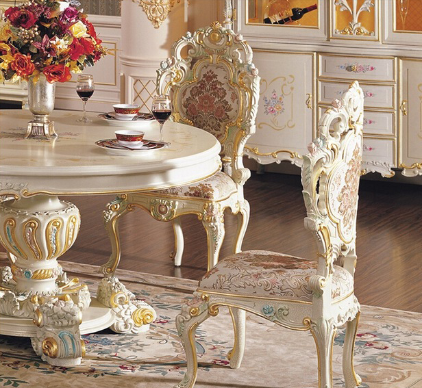 European palace style furniture