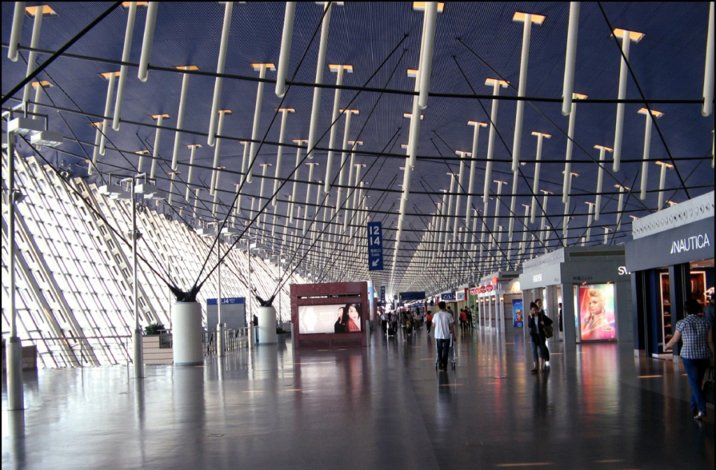 Shanghai Pudong Airport-1