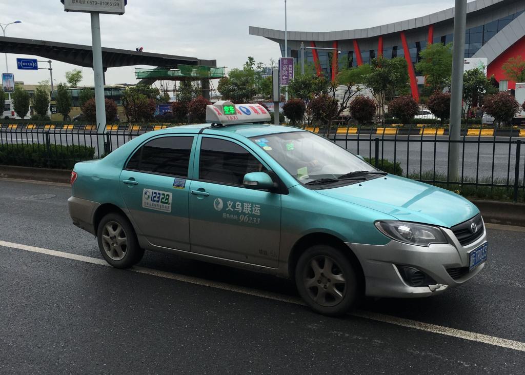 Taxi in Yiwu