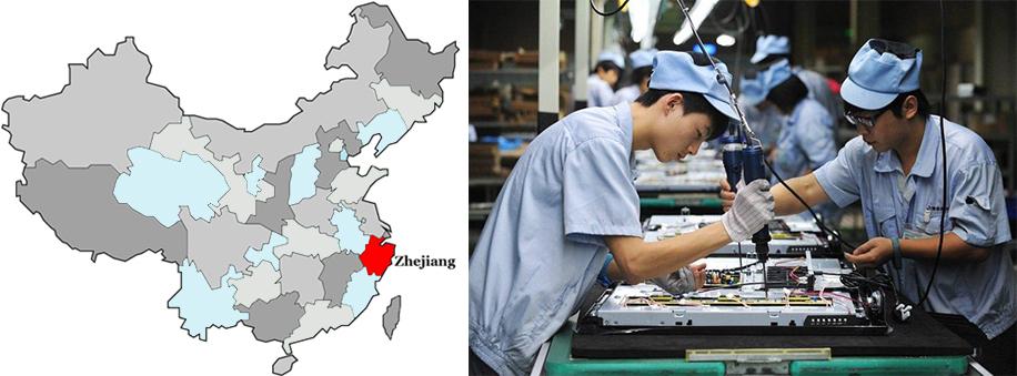 industrial clusters in zhejiang