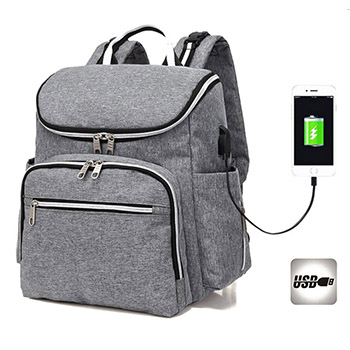 diaper bag with usb