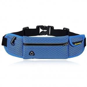 AIKELIDA Running Belt_Runner Waist Pack_Running Gear Bag_Runners Belt for iPhone, Samsung Galaxy - for Men, Women during Workouts, Fitness, Cycling, Hiking, Walking