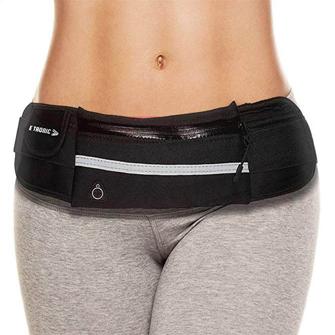 E Tronic Edge Waist Packs _ Best Comfortable Running Belts That Fit ALL Phone Models and Fit ALL Waist Sizes. For Running, Workouts, Cycling, Travelling Money Belt & More1