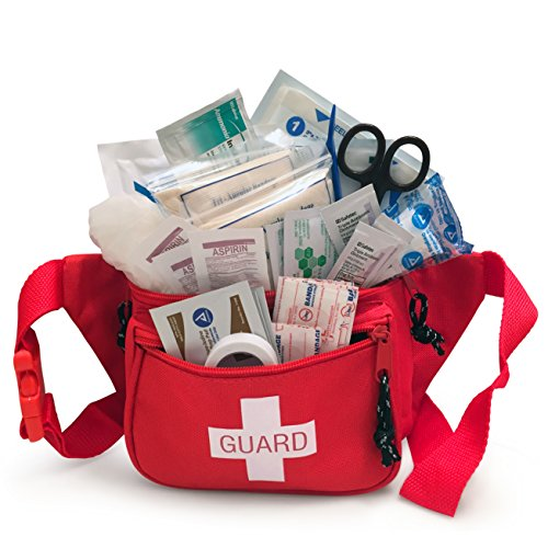 Primacare-KB-8005-First-Aid-Fanny-Pack-Stocked-with-Supplies