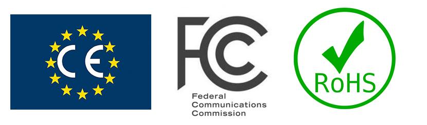 CE & FCC & ROHS