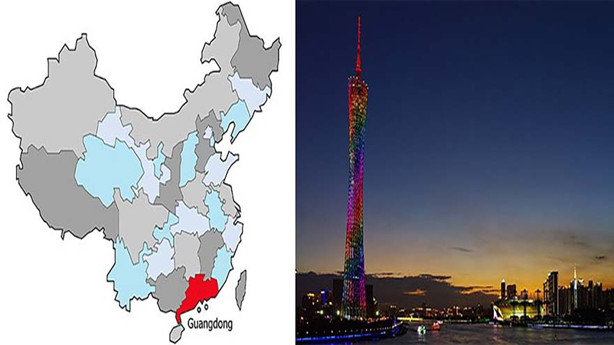 Industrial Clusters in Guangdong Province, ChinaIndustrial Clusters in Guangdong Province, China