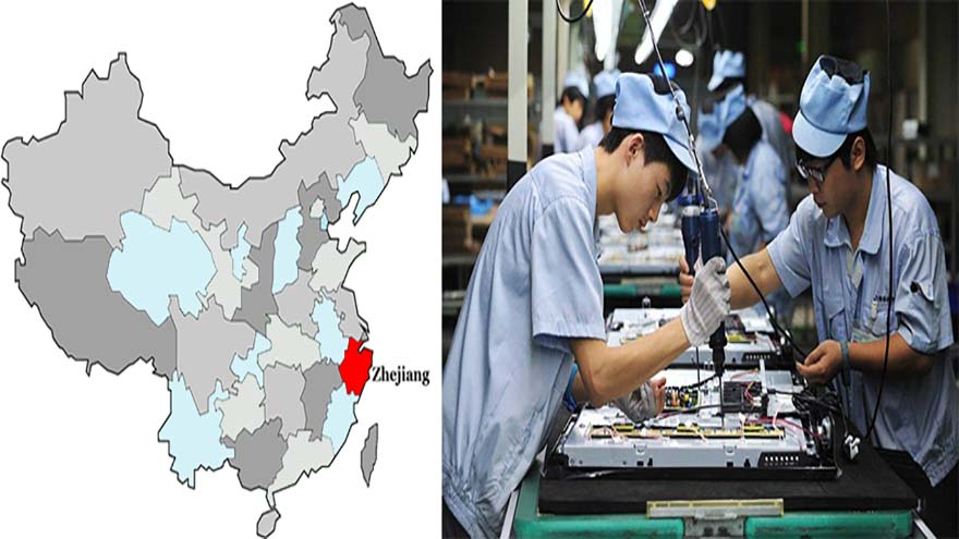 Industrial Clusters in Zhejiang Province, China