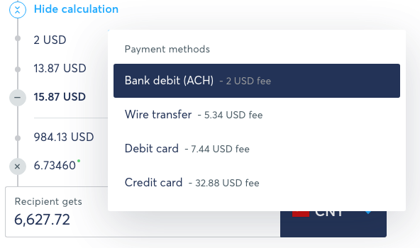 how to use transferwise