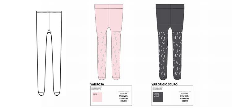 sock template