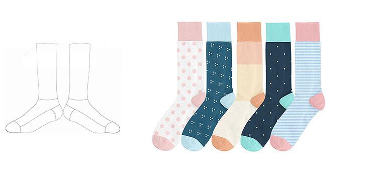 p05 sock templates