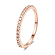 MOQ of micro paving fashion jewelry