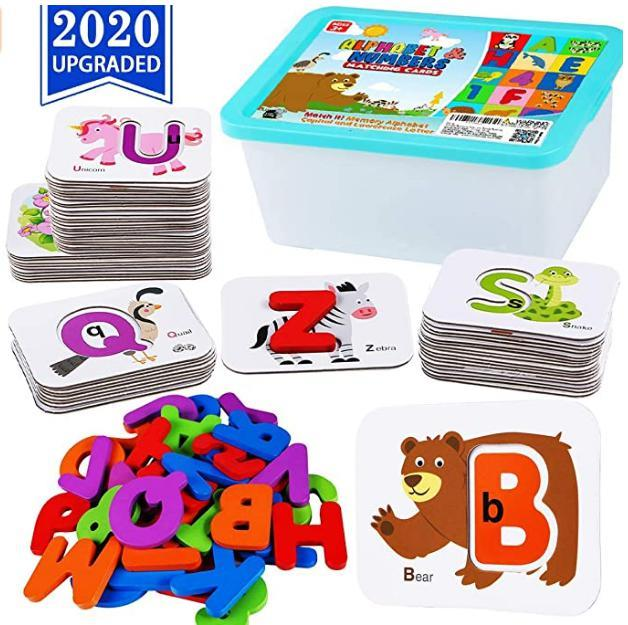 Alphabet Numbers Toddler Flash Cards