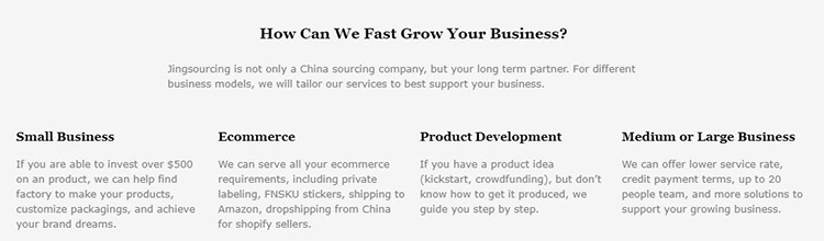 jingsourcing service