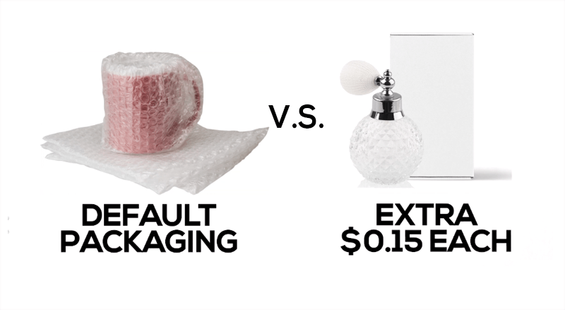 bubble wrap vs box packaging
