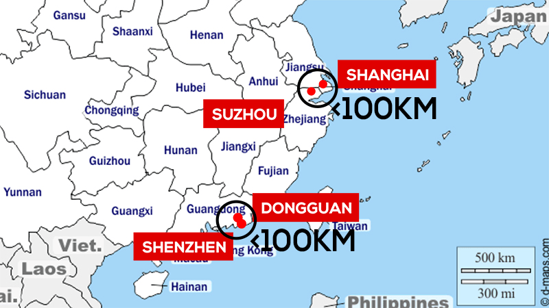 FOB Shenzhen&Shanghai