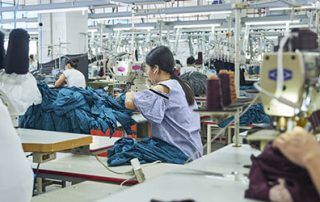 china clothing clusters