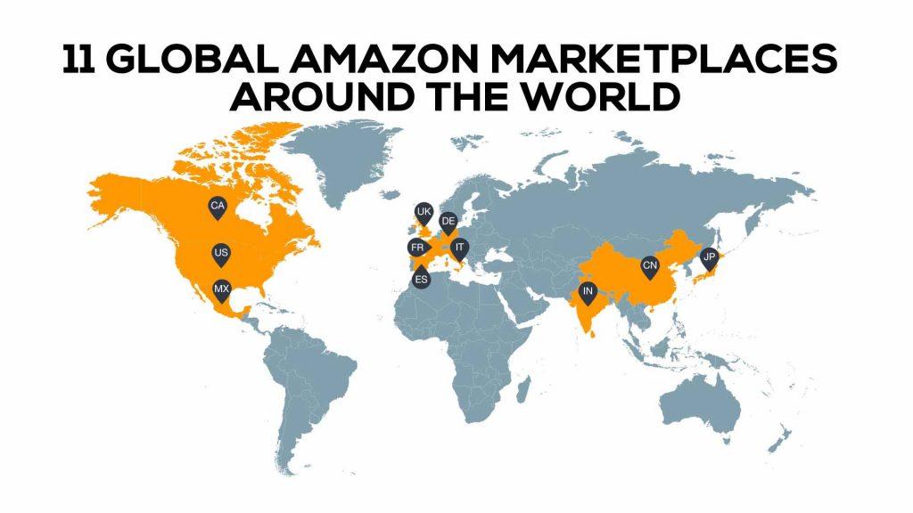 amazon marketplaces map
