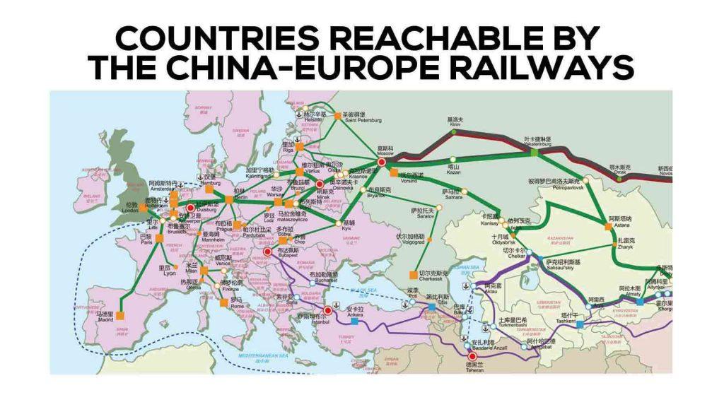 china-europe railway