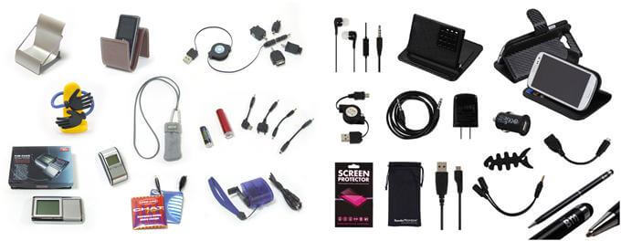 electronic products and accessories